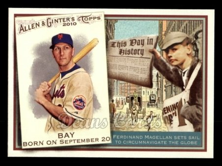 2010 Topps Allen & Ginter This Day In History #11 TDH  -  Jason Bay This Day in History
