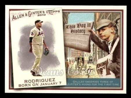 2010 Topps Allen & Ginter This Day In History #26 TDH  -  Francisco Rodriguez This Day in History