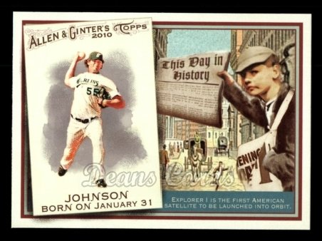 2010 Topps Allen & Ginter This Day In History #35 TDH  -  Josh Johnson This Day in History