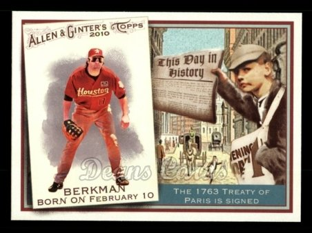 2010 Topps Allen & Ginter This Day In History #4 TDH  -  Lance Berkman This Day in History