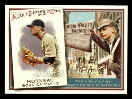 2010 Topps Allen & Ginter This Day In History #49 TDH  -  Justin Morneau This Day in History