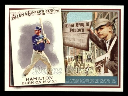 2010 Topps Allen & Ginter This Day In History #64 TDH  -  Josh Hamilton This Day in History