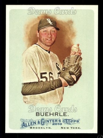 2010 Topps Allen & Ginter #101  Mark Buehrle