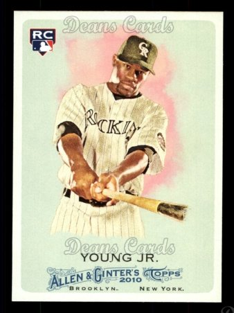 2010 Topps Allen & Ginter #118  Eric Young Jr.
