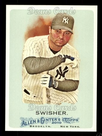 2010 Topps Allen & Ginter #120  Nick Swisher