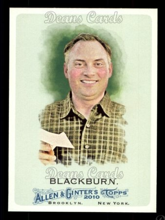 2010 Topps Allen & Ginter #135  Ken Blackburn