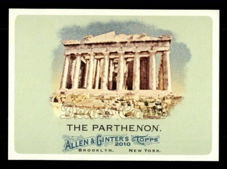 2010 Topps Allen & Ginter #152  The Parthenon
