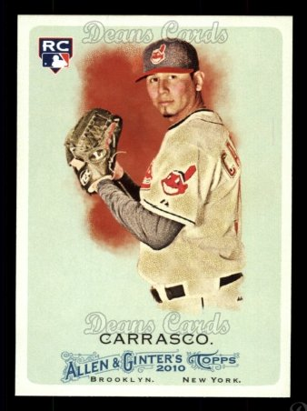 2010 Topps Allen & Ginter #155  Carlos Carrasco