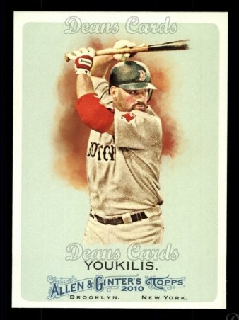 2010 Topps Allen & Ginter #157  Kevin Youkilis