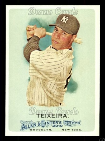 2010 Topps Allen & Ginter #158  Mark Teixeira