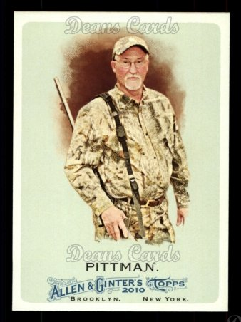 2010 Topps Allen & Ginter #176  Preston Pittman