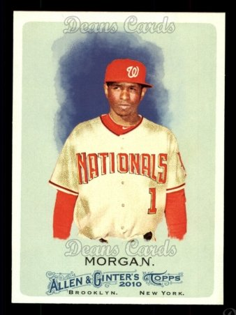 2010 Topps Allen & Ginter #194  Nyjer Morgan
