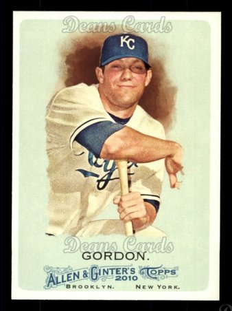2010 Topps Allen & Ginter #209  Alex Gordon