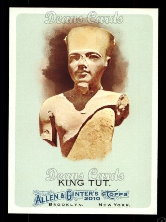2010 Topps Allen & Ginter #271  King Tut