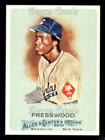 2010 Topps Allen & Ginter #283  Hank Presswood