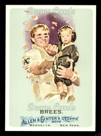 2010 Topps Allen & Ginter #287  Drew Brees