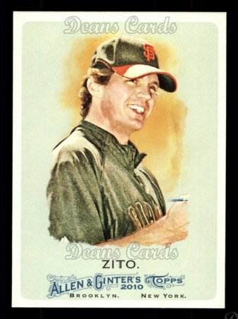 2010 Topps Allen & Ginter #296  Barry Zito