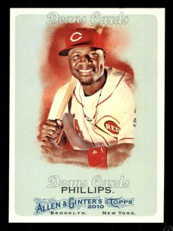 2010 Topps Allen & Ginter #306  Brandon Phillips