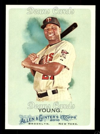 2010 Topps Allen & Ginter #34  Delmon Young
