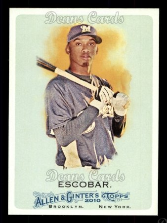 2010 Topps Allen & Ginter #350  Alcides Escobar