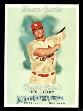 2010 Topps Allen & Ginter #51  Matt Holliday