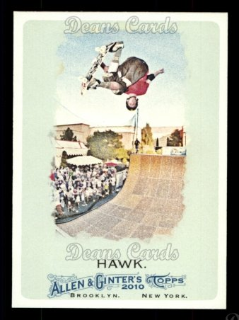 2010 Topps Allen & Ginter #54  Tony Hawk