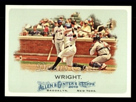 2010 Topps Allen & Ginter #83  David Wright