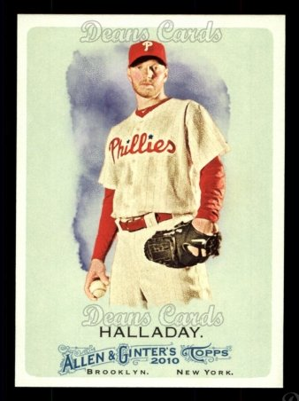 2010 Topps Allen & Ginter #96  Roy Halladay