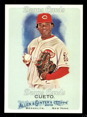 2010 Topps Allen & Ginter #98  Johnny Cueto