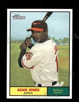 2010 Topps Heritage #182  Adam Jones