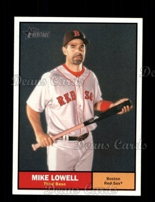 2010 Topps Heritage #381  Mike Lowell