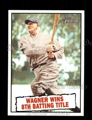 2010 Topps Heritage #410   -  Honus Wagner Wagner Wins 8th Batting Title