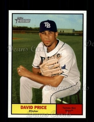 2010 Topps Heritage #426  David Price