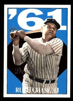 2010 Topps Heritage Ruth Chase 71 #11 BR Babe Ruth