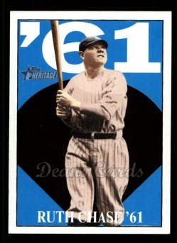 2010 Topps Heritage Ruth Chase 73 #13 BR Babe Ruth