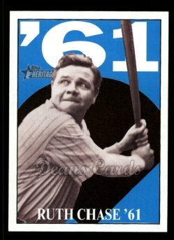 2010 Topps Heritage Ruth Chase 75 #15 BR Babe Ruth