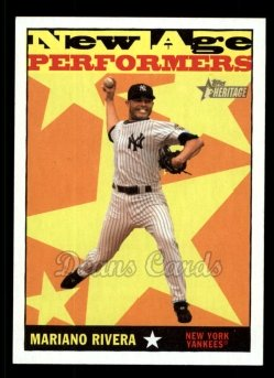 2010 Topps Heritage New Age Performers #14 NAP  -  Mariano Rivera New Age Performers