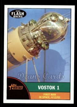 2010 Topps Heritage News Flashbacks #9 NF  News Flashbacks - Vostok 1