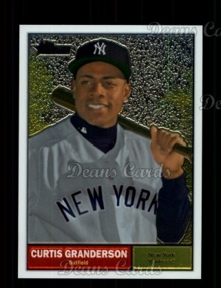 2010 Topps Heritage Chrome #14  Curtis Granderson