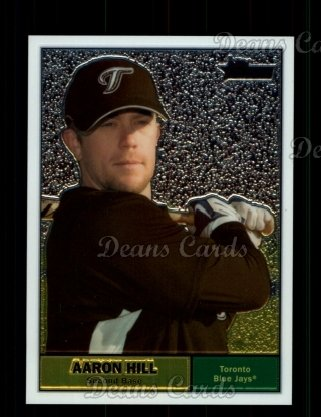 2010 Topps Heritage Chrome #94  Aaron Hill