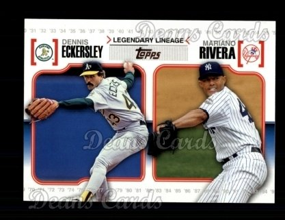 2010 Topps Legendary Lineage #26  Dennis Eckersley / Mariano Rivera
