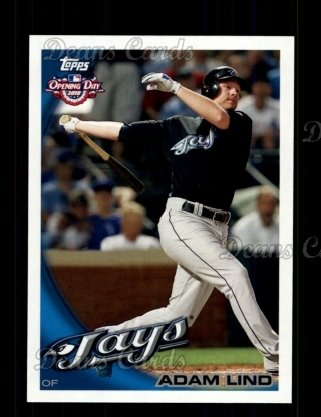 2010 Topps Opening Day #79  Adam Lind