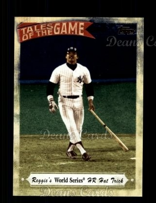 # TOG14 Reggie's World Series HR Hat Trick - 2010 Topps Tales of the Game