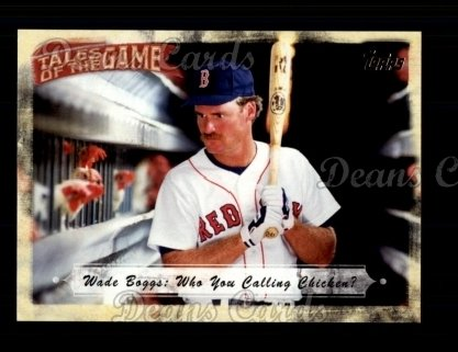 # TOG17 Wade Boggs: Who You Calling Chicken? - 2010 Topps Tales of the Game