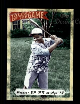 # TOG18 Prince: BP HR at Age 12 - 2010 Topps Tales of the Game