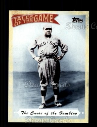 # TOG2 The Curse of the Bambino - 2010 Topps Tales of the Game