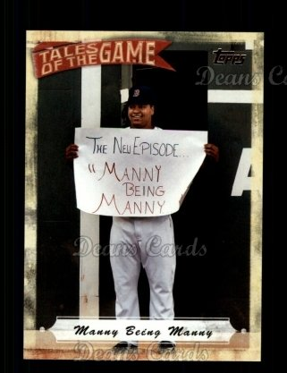 # TOG23 Manny Being Manny - 2010 Topps Tales of the Game