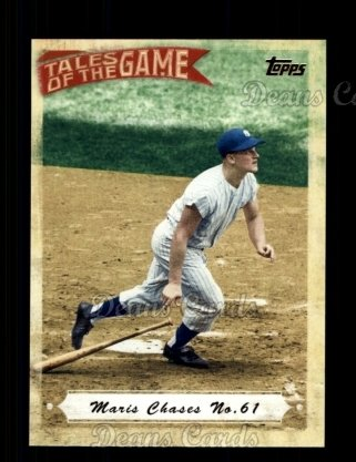 # TOG8 Maris Chases #61 - 2010 Topps Tales of the Game
