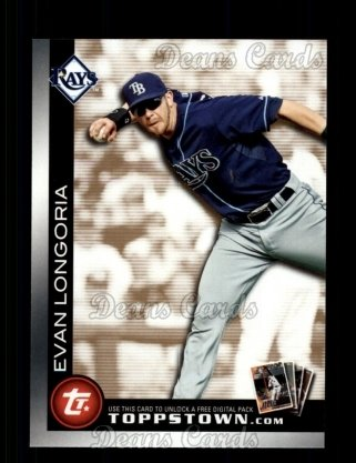 2010 Topps Ticket to Topps Town #5 TTT  -  Evan Longoria Ticket to Topps Town