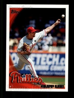 # 132 Cliff Lee - 2010 Topps Baseball